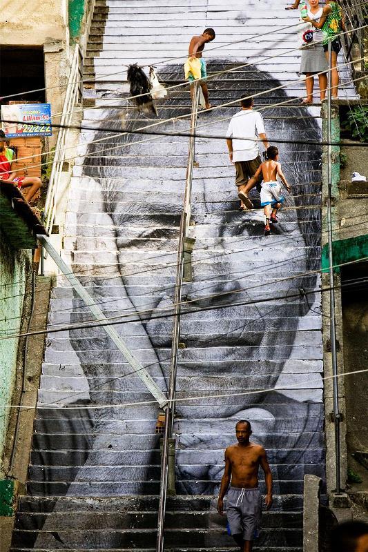 Kota dengan Seni Jalanan Terbaik di Dunia - Seni-Jalanan-Lukisan-Mural-di-Kota-Rio-de-Janeiro-di-Brazil-1
