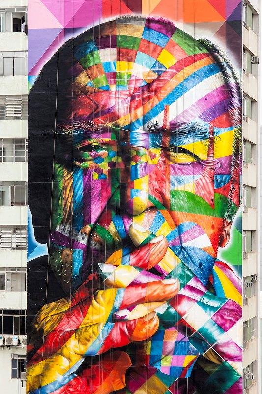 Kota dengan Seni Jalanan Terbaik di Dunia - Seni-Jalanan-Lukisan-Mural-di-Kota-Sao-Paulo-di-Brazil-2