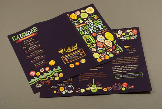 Desain Brosur Cantik dan Profesional untuk Promosi - Brosur-Desain-Cantik-dan-Profesional-08 Farmers Market Brochure