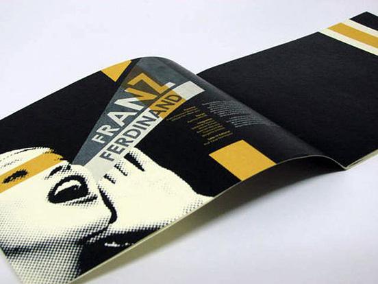 Desain Brosur Cantik dan Profesional untuk Promosi - Brosur-Desain-Cantik-dan-Profesional-22 Brochure Franz Ferdinand