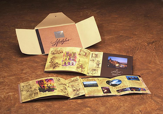 Desain Brosur Cantik dan Profesional untuk Promosi - Brosur-Desain-Cantik-dan-Profesional-23 Lifestyles Brochure