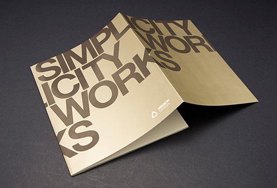 Desain Brosur Cantik dan Profesional untuk Promosi - Brosur-Desain-Cantik-dan-Profesional-26 Simplicity Works