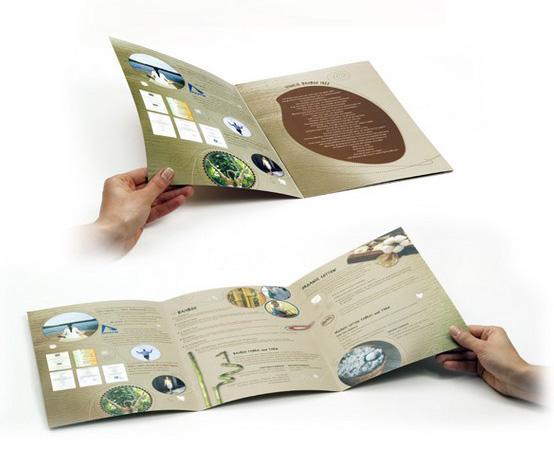 Desain Brosur Cantik dan Profesional untuk Promosi - Brosur-Desain-Cantik-dan-Profesional-28 Brochure for a Textile Company