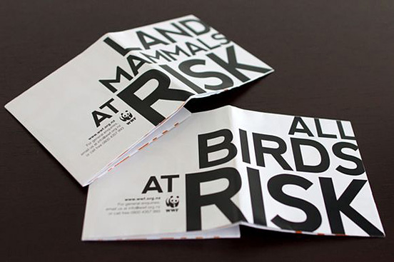 Desain Brosur Cantik dan Profesional untuk Promosi - Brosur-Desain-Cantik-dan-Profesional-29 WWF Climate Change Publication