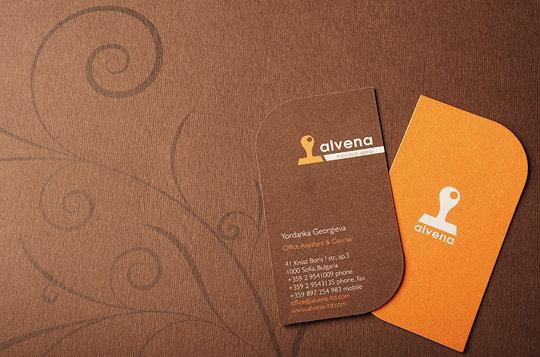 Desain Kartu Nama Unik dan Inspiratif 09