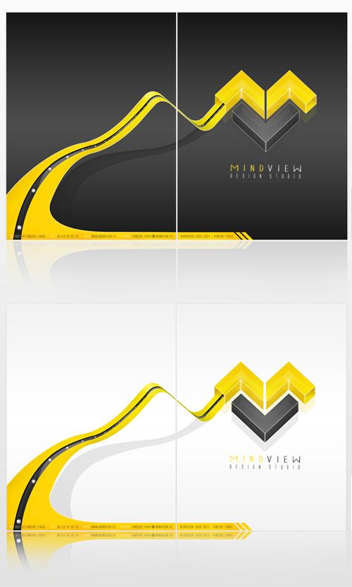 35 Desain Map Company Profile Perusahaan Corporate - desain-map-untuk-company-profile-22