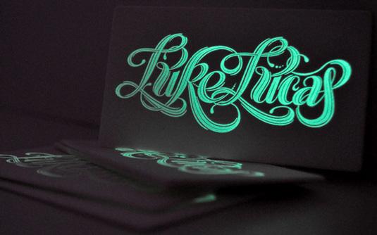 Desain Kartu Nama dengan Cetak Letter Press - lukelucas