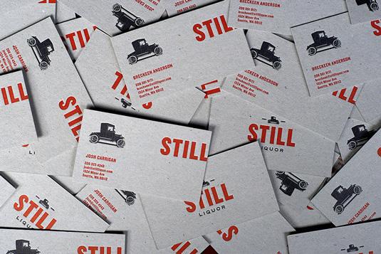 Desain Kartu Nama dengan Cetak Letter Press - still
