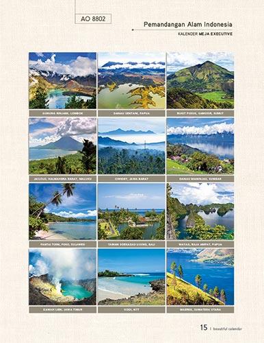 Download Katalog Kalender AO - AO 8802 Kalender Meja Eksekutiv Pemandangan Alam Dunia Katalog Kalender AO 2014 hal-015