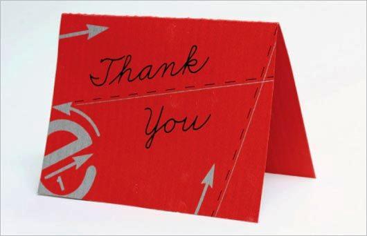 Desain Kartu Ucapan Terima Kasih - Contoh Desain Grafis Kartu Ucapan Terima Kasih-12