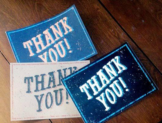 Desain Kartu Ucapan Terima Kasih - Contoh Desain Grafis Kartu Ucapan Terima Kasih-14