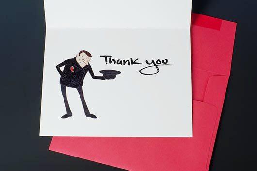 Desain Kartu Ucapan Terima Kasih - Contoh Desain Grafis Kartu Ucapan Terima Kasih-19