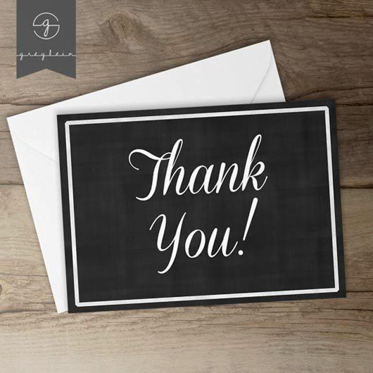 Desain Kartu Ucapan Terima Kasih - Contoh Desain Grafis Kartu Ucapan Terima Kasih-21