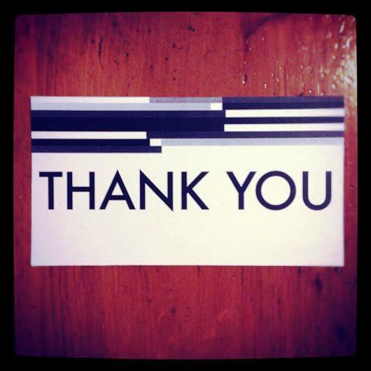 Desain Kartu Ucapan Terima Kasih - Contoh Desain Grafis Kartu Ucapan Terima Kasih-23