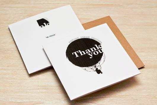 Desain Kartu Ucapan Terima Kasih - Contoh Desain Grafis Kartu Ucapan Terima Kasih-36