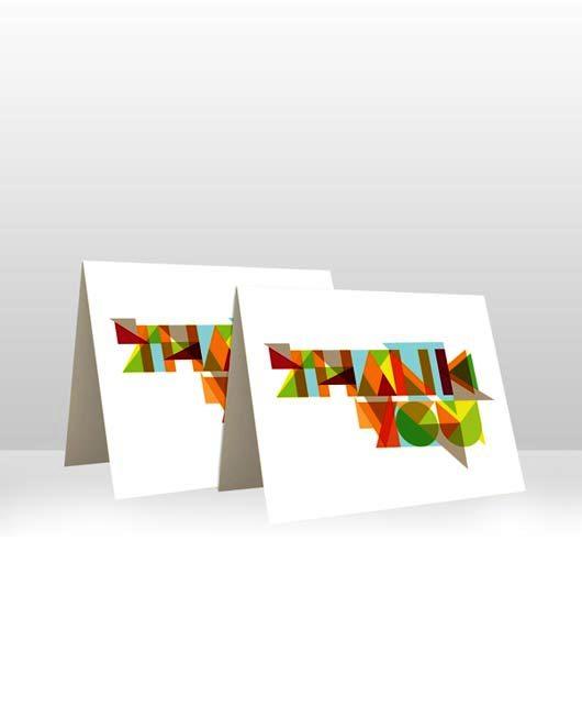 Desain Kartu Ucapan Terima Kasih - Contoh Desain Grafis Kartu Ucapan Terima Kasih-38
