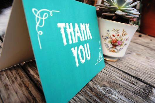 Desain Kartu Ucapan Terima Kasih - Contoh Desain Grafis Kartu Ucapan Terima Kasih-40