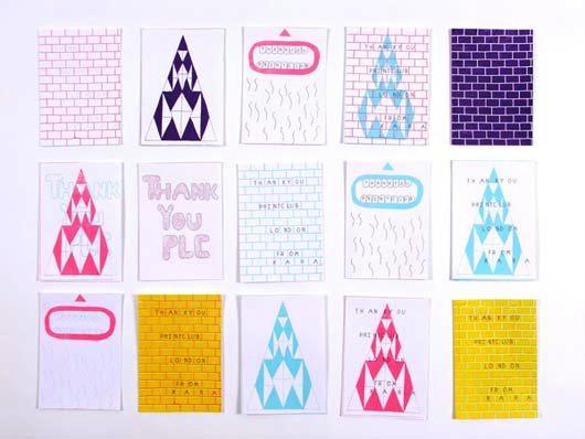 Desain Kartu Ucapan Terima Kasih - Contoh Desain Grafis Kartu Ucapan Terima Kasih-42a