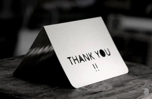 Desain Kartu Ucapan Terima Kasih - Contoh Desain Grafis Kartu Ucapan Terima Kasih-43