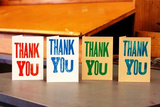 Desain Kartu Ucapan Terima Kasih - Contoh Desain Grafis Kartu Ucapan Terima Kasih-45