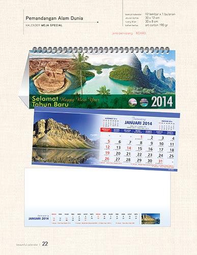 Download Katalog Kalender AO - Pemandangan Alam Dunia Kalender Alam Dunia Kalender Meja Special Katalog Kalender AO 2014 hal-022