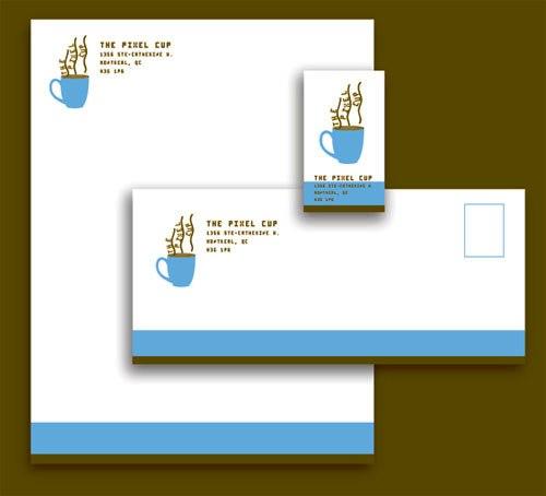 Contoh Desain Kop Surat dan Corporate Identity Inspiratif 11