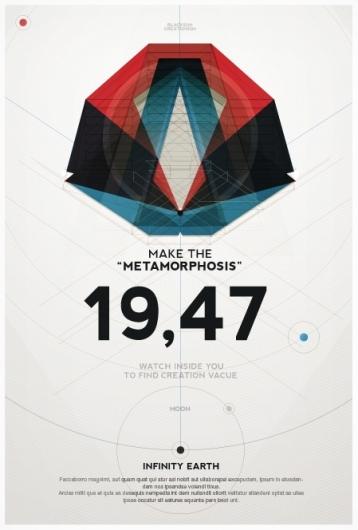 Contoh Poster dengan Desain Modern dan Elegan 16