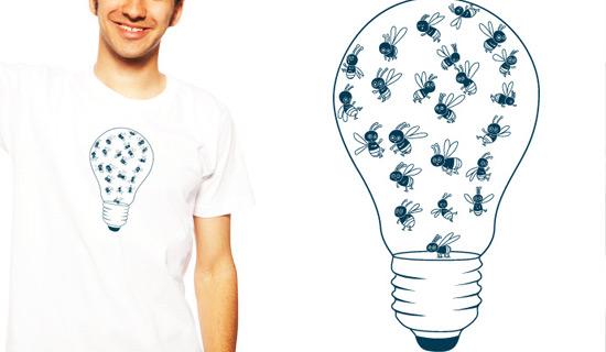 Contoh Desain T Shirt Bergambar Unik - Desain Kaos T-Shirt Keren 14