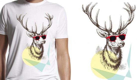 Contoh Kaos Dengan Desain Ilustrasi Keren - Desain-Kaos-T-Shirt-Keren-25
