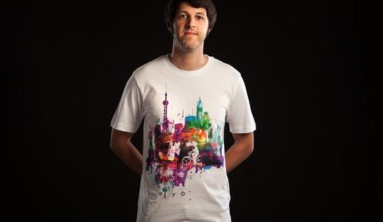 Contoh Desain T Shirt Bergambar Unik - Desain Kaos T-Shirt Keren 27