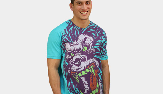 Contoh Desain T Shirt Bergambar Unik - Desain Kaos T-Shirt Keren 30