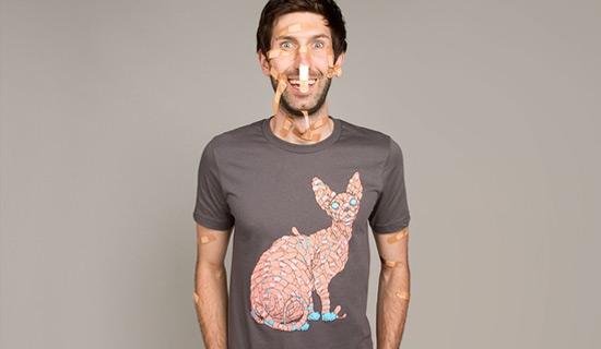 Contoh Desain T Shirt Bergambar Unik - Desain Kaos T-Shirt Keren 49
