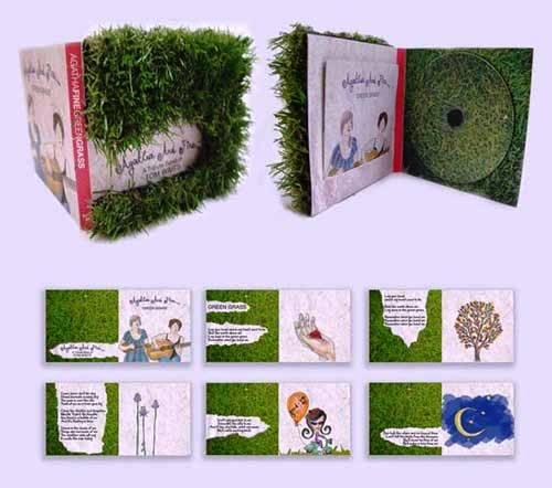Contoh Desain Packaging Kemasan CD DVD - Desain dan contoh packaging kotak dus CD DVD 02