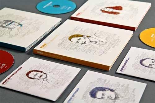 Contoh Desain Packaging Kemasan CD DVD - Desain dan contoh packaging kotak dus CD DVD 16