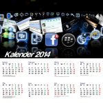 Kalender-2014-Tema-BlackBerry-Messenger-for-Android-and-iPhone-iOS-Calendar-Desain-01