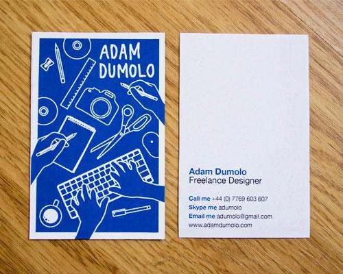 Desain Kartu Nama Contoh Desain Kreatif