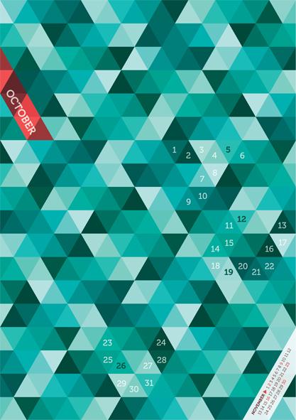 Contoh Desain Kalender - 36-dari-45-Contoh-Desain-Kalender-2014-Beautiful-Unique-Calender-Designs