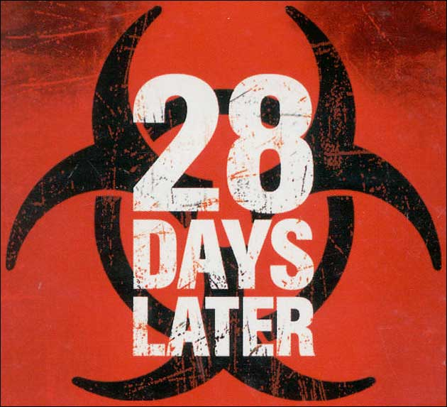 Download Free 42 Font Judul Film Film Terkenal - 28_days_later