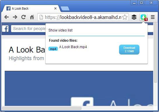 5 Cara Download Video Facebook Look Back