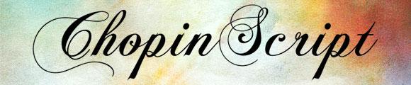 Font Kaligrafi Terbaik - Font Kaligrafi ChopinScript