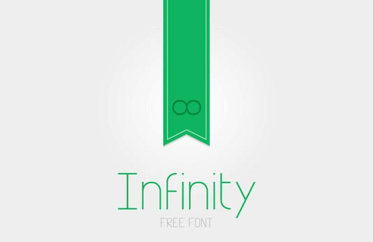 Download 100 Font Gratis untuk Desain Grafis dan Web - Infinity Free Font