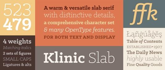 Download 100 Font Gratis untuk Desain Grafis dan Web - Klinic Free Font