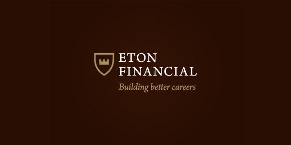 Contoh Desain Logo Institusi Keuangan - Logo Keuangan Eton