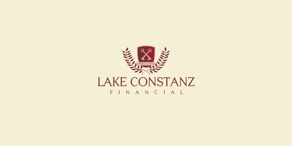 Contoh Desain Logo Institusi Keuangan - Logo Keuangan Lake Constanz