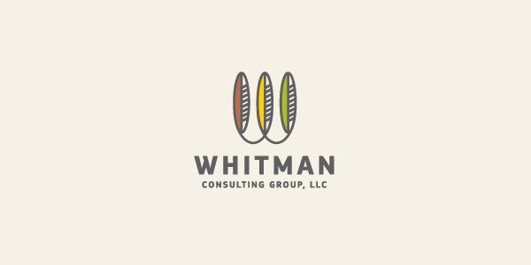 Contoh Desain Logo Institusi Keuangan - Logo Keuangan Whitman
