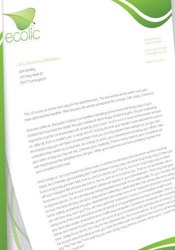 Contoh Desain Logo pada Kop Surat - Logo-Kop-Surat-Ecolic-Corporate-Identity