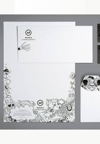 Contoh Desain Logo pada Kop Surat - Logo-Kop-Surat-Musica