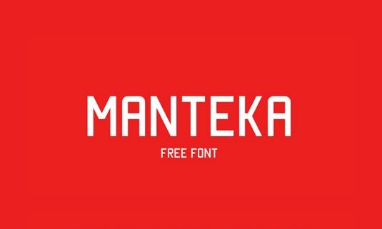Download 100 Font Gratis untuk Desain Grafis dan Web - Manteka Free Font