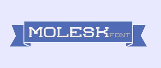 Download 100 Font Gratis untuk Desain Grafis dan Web - Molesk Free Font