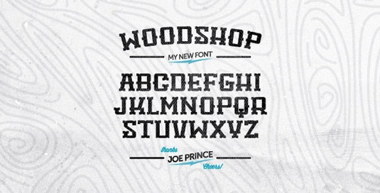 Download Free Font Gratis for Graphic Design and Web - Woodshop-Free-Font